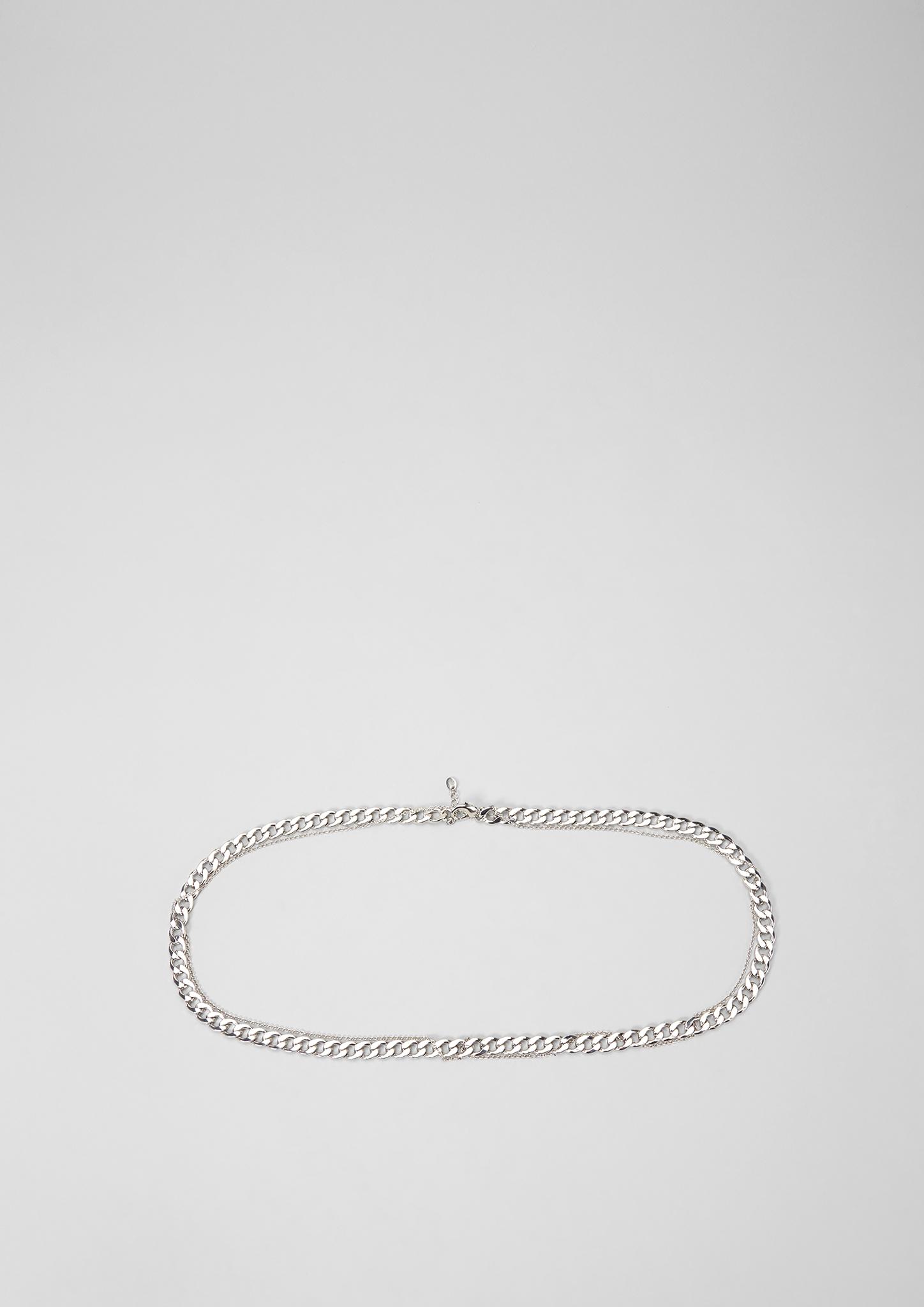 Ketten-Gürtel | Accessoires > Gürtel > Kettengürtel | Silber | 100% metall | s.Oliver