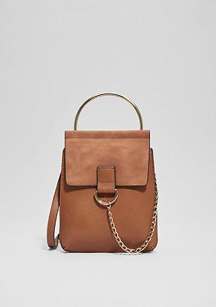 City bag met een kettingdetail