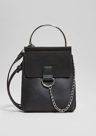 City Bag mit Ketten-Detail