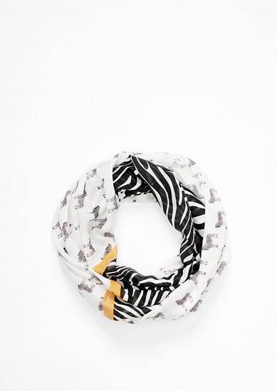 Loop mit Zebra-Print