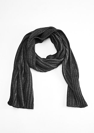 Scarf with a distinctive texture from s.Oliver