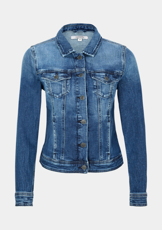 Vintage-style denim jacket from comma