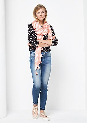 Legere Jeans im Used-Look