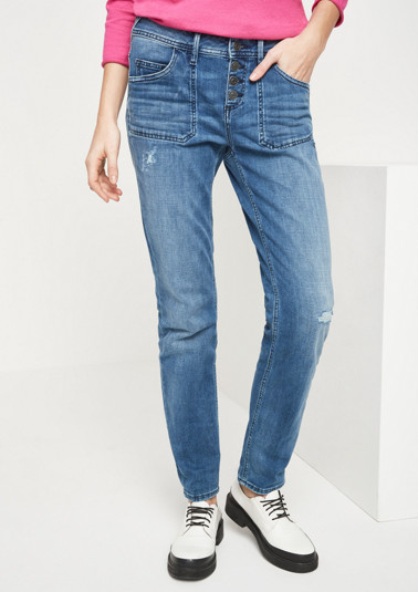 Jeans in Used-Optik