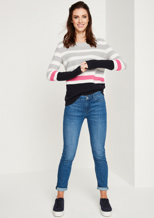 Jeans im aufregenden Used-Look