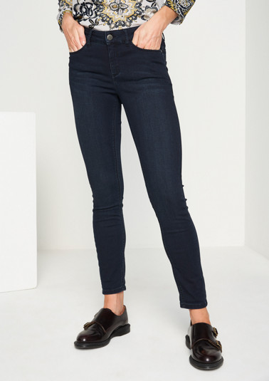 Slim fit jeans in a vintage look from comma