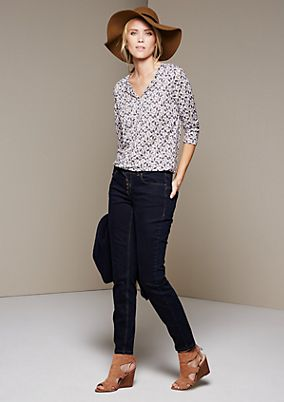 Classic jeans in pure dark blue from s.Oliver