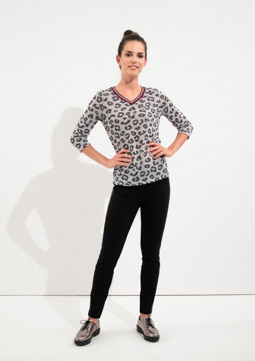Slim Fit: Skinny ankle leg-Hose mit Tape