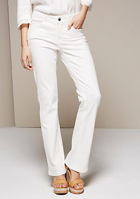 Classic coloured jeans in a bootcut style from s.Oliver