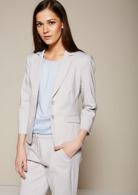 Lightweight summer blazer with elegant details from s.Oliver