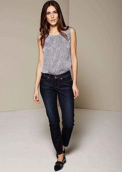 Klassische Jeans mit dezenter Waschung