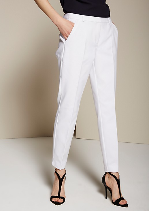 Elegant business trousers with sophisticated details from s.Oliver