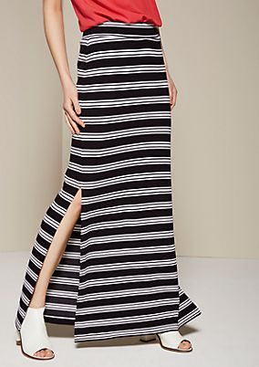 Lightweight maxi dress with a summery striped pattern from s.Oliver