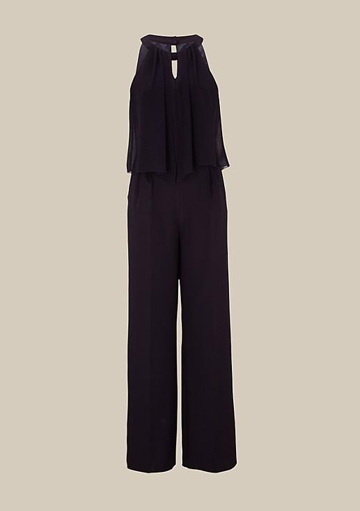 Eleganter Business-Jumpsuit mit dekorativen Details
