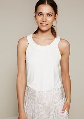 Lightweight top with great attention to detail from s.Oliver
