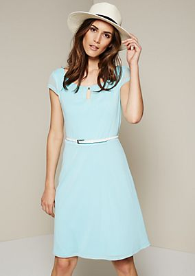Delicate summer dress with a beautiful all-over print from s.Oliver