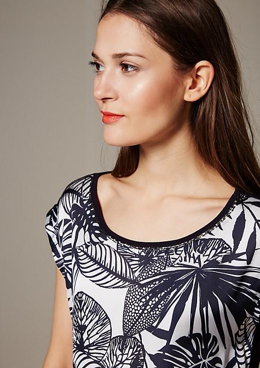 Leichtes Top mit elegantem Muster