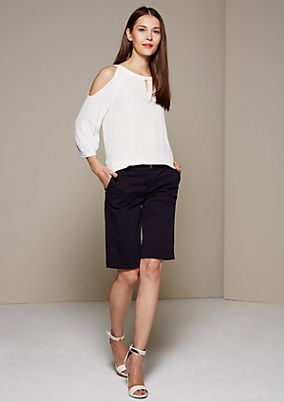 Sporty Bermudas with a beautiful wash from s.Oliver