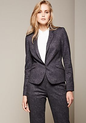 Elegant blazer with a beautiful mottled finish from comma