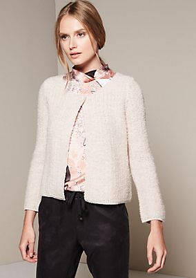 Fine cardigan in a two-tone design from s.Oliver