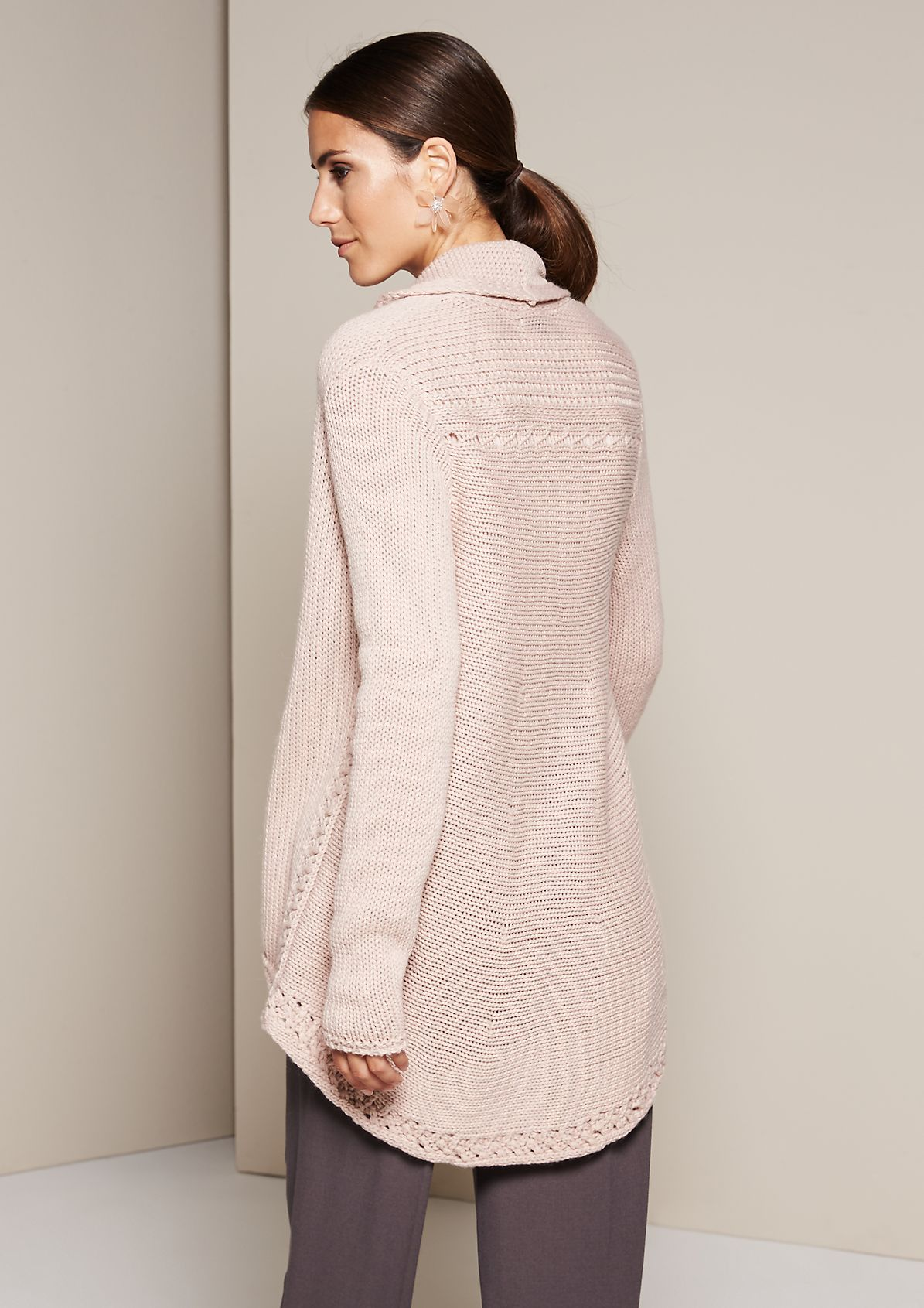 Beautiful cardigan in a mix of patterns from comma