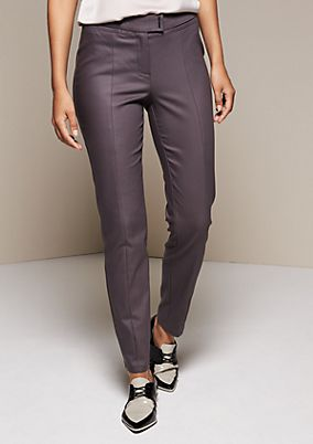 Elegant business trousers with extravagant details from comma