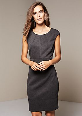 Fine sheath dress with sophisticated details from s.Oliver