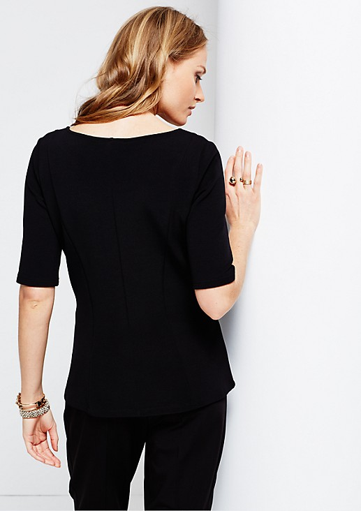 Elegant short sleeve top from comma