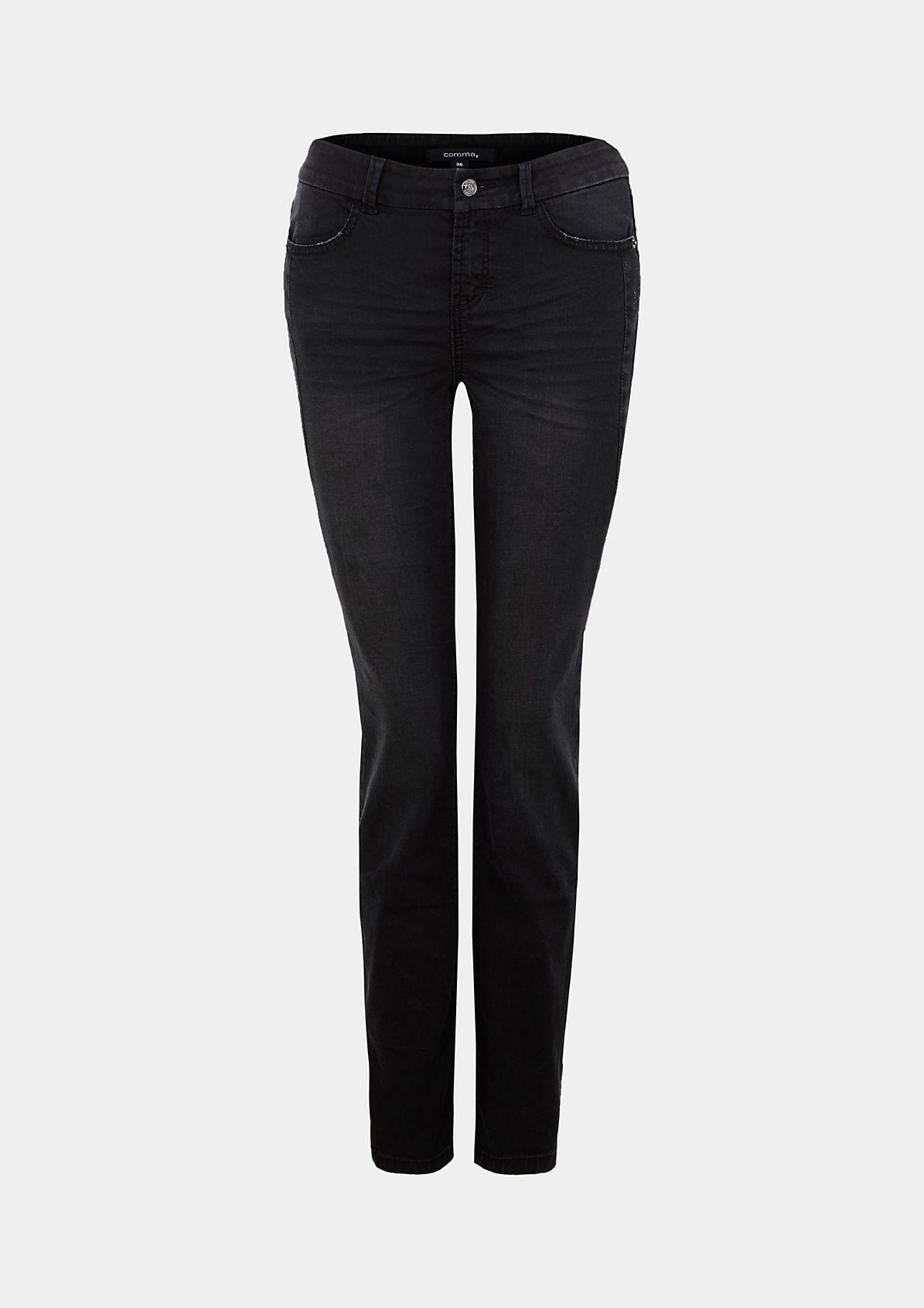 Roughe Jeans im angesagten Used-Look