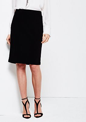 Fine skirt with smart details from s.Oliver