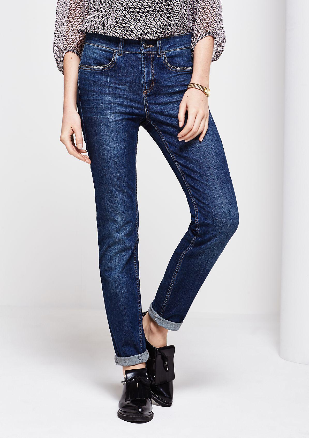 Klassische Jeans mit schöner Used-Waschung