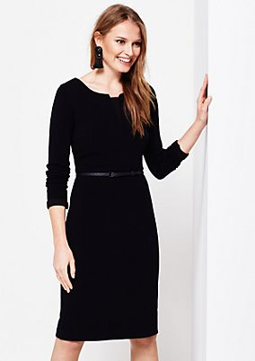 Casual, soft dress with pretty details from s.Oliver