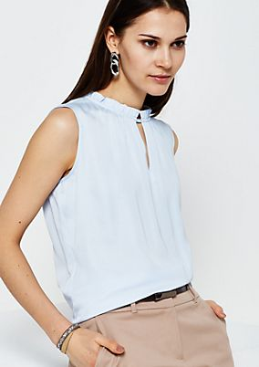 Elegant top with lovely details from s.Oliver