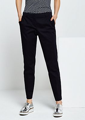 Classic business trousers with beautiful detailing from s.Oliver