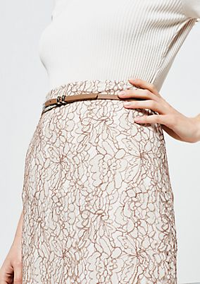 Extravagant skirt in delicate lace from s.Oliver