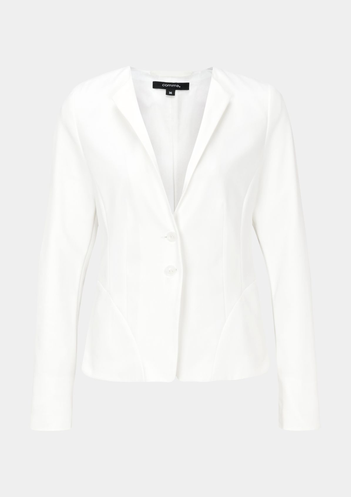 Extravaganter Businessblazer mit smarten Details