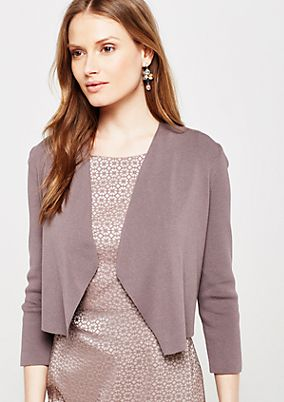 Lightweight bolero jacket with 3/4-length sleeves from s.Oliver