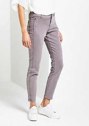 Feminine casual trousers with a subtle vintage finish from s.Oliver