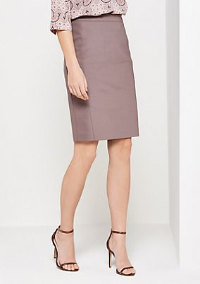 Fine business skirt with sophisticated details from s.Oliver