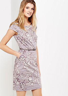 Beautiful evening dress with exciting pattern from comma
