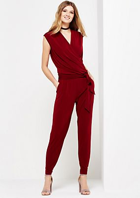 Smart jumpsuit with decorative details from s.Oliver