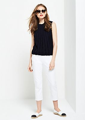 3/4-length casual trousers from s.Oliver