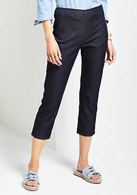 3/4-length casual trousers from comma