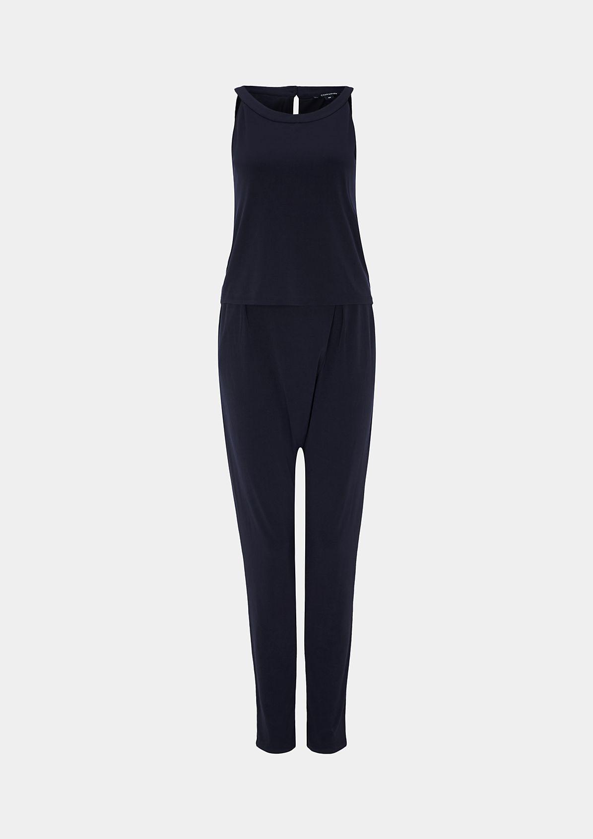 Jumpsuit mit raffinierten Details