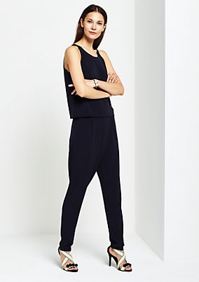 Jumpsuit with sophisticated details from s.Oliver