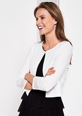 Lightweight cardigan with 3/4-length sleeves from comma