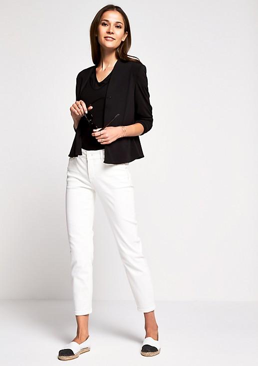 Skinny-Jeans mit raffinierten Detailarbeiten