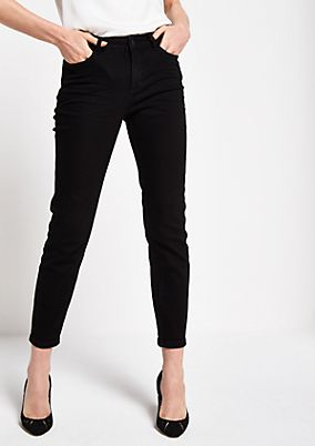 Skinny jeans with sophisticated details from comma