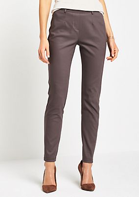 Elegant business trousers with fine details from comma