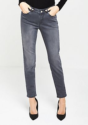 Skinny vintage-look jeans from comma